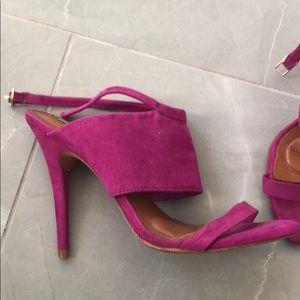 Zara magenta heels